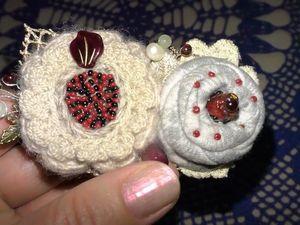 Текстильные броши Как сделать брошь. Ярмарка Мастеров - ручная работа, handmade.