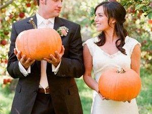 Свадьба с налётом «Тыквенности», или Оригинальные идеи для осеннего торжества. Ярмарка Мастеров - ручная работа, handmade.