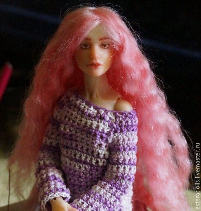 кукла, шарнирная кукла, перетяжка, перетяжка куклы, мастер-класс, бжд, doll, doll bjd, bjd, авторская кукла