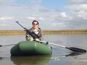 Пристрелка оптического прицела на Вепре. Снова учусь ездить на резиновой лодке. Ярмарка Мастеров - ручная работа, handmade.