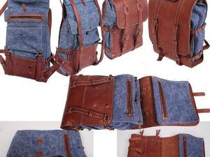 Новый вид продукции - рюкзаки.. Ярмарка Мастеров - ручная работа, handmade.