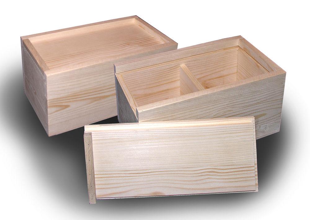 заготовки для декупажа, коробка, сосна