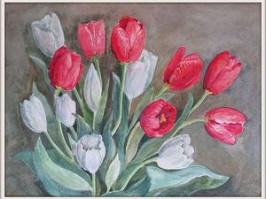Распродажа картин цветов. | Ярмарка Мастеров - ручная работа, handmade