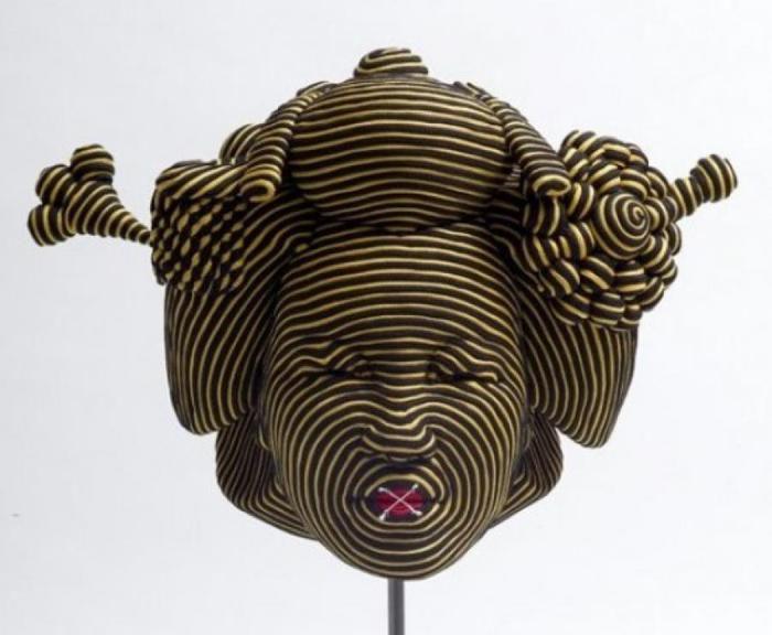 Интересное творчество, необычное вязание, вязание 3D