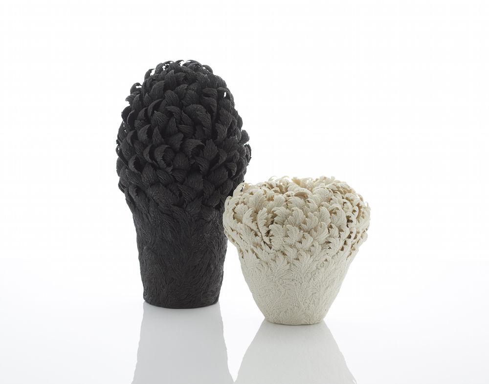 Потрясающие работы Hitomi Hosono: растения, застывшие в фарфоре, фото № 4