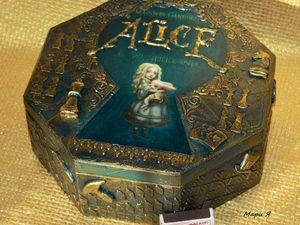 Шкатулки в стиле Алиса. Мои работы. Ярмарка Мастеров - ручная работа, handmade.
