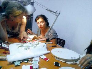 Мастер-класс по якобинской вышивке. 13 августа.. Ярмарка Мастеров - ручная работа, handmade.