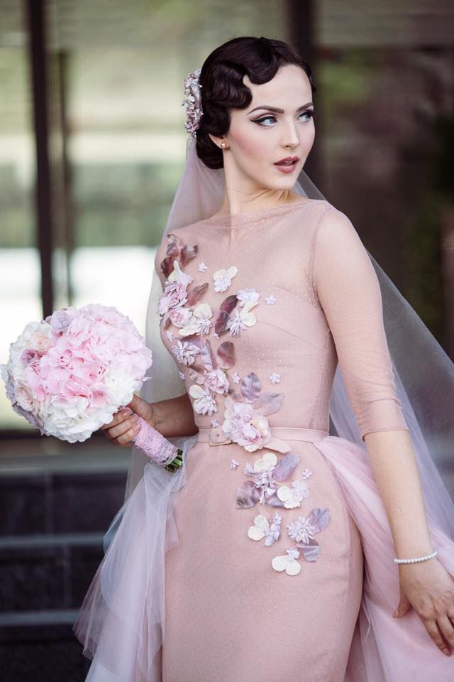 свадьба, розовый, свадебная мода, ручная вышивка