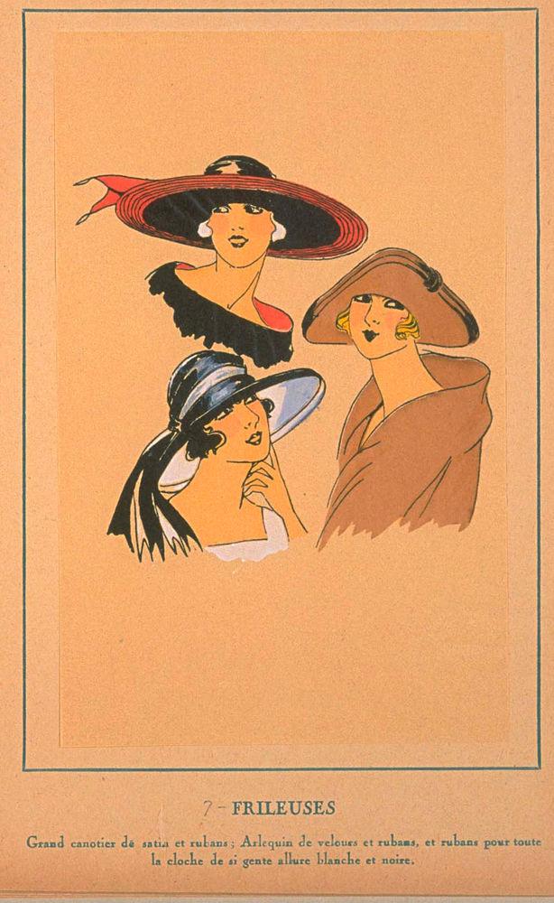 Ах, какие шляпки! Шляпная мода 1922 года по версии французского журнала «Les chapeaux du Tres parisien». Часть 2, фото № 28