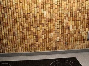 Decorate It Yourself: How to Make a Kitchen Backsplash Using Corks. Livemaster - handmade
