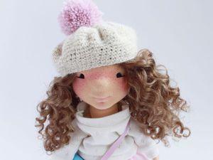 Текстильная кукла Картофелька   Ярмарка Мастеров - ручная работа, handmade