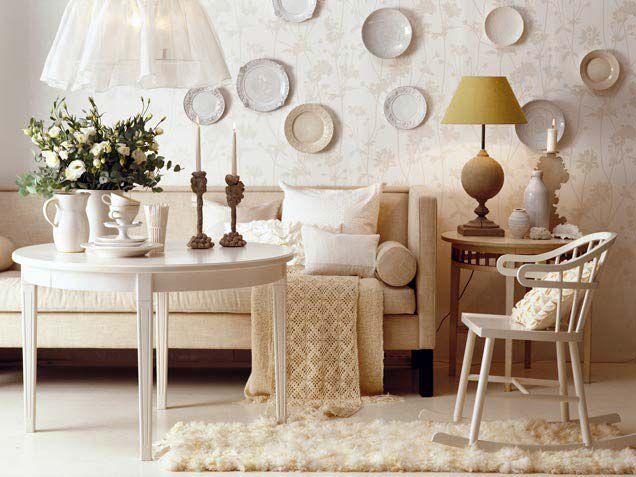 тарелки на стену, декор