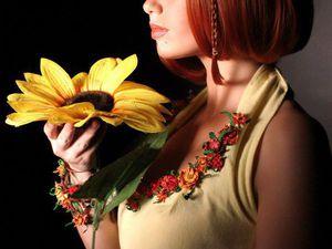 Создаем цветы из фоамирана для образа на фотосессию. Ярмарка Мастеров - ручная работа, handmade.
