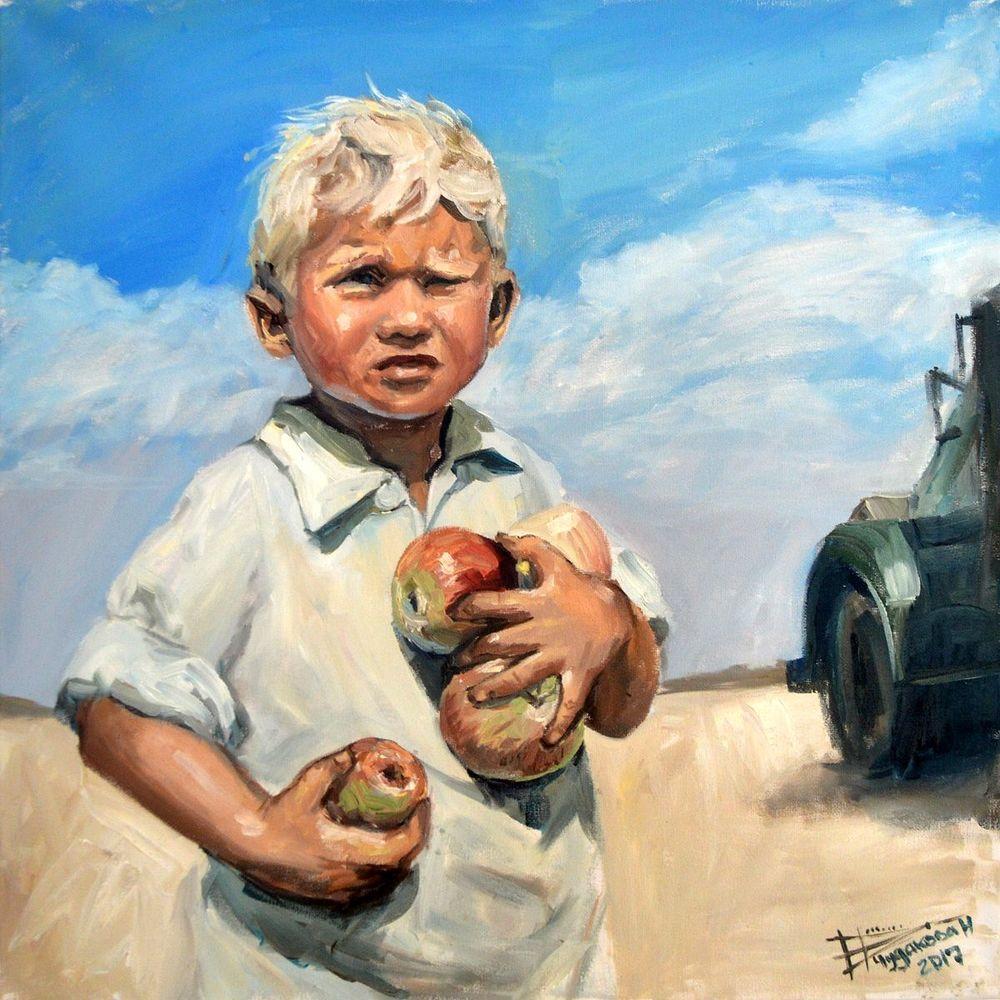 Деревенский мальчик картинка для детей