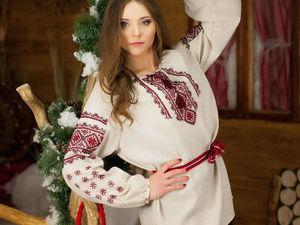 АНОНС: Славянские рубахи с ручной вышивкой! | Ярмарка Мастеров - ручная работа, handmade