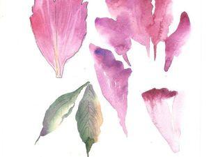 Курсы декоративной живописи и ботанической зарисовки | Ярмарка Мастеров - ручная работа, handmade