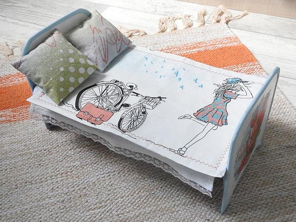 Интерактивная игра «Дочки-матери». Кровать для мамы. Часть 2 | Ярмарка Мастеров - ручная работа, handmade