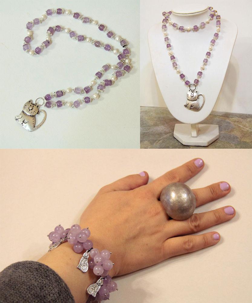 Авторские украшения из жемчуга и натуральных камней своими руками, фото № 23