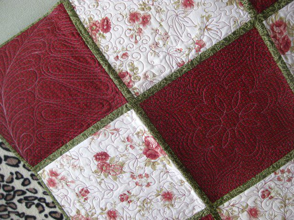 лоскутное одеяло, панно на стену