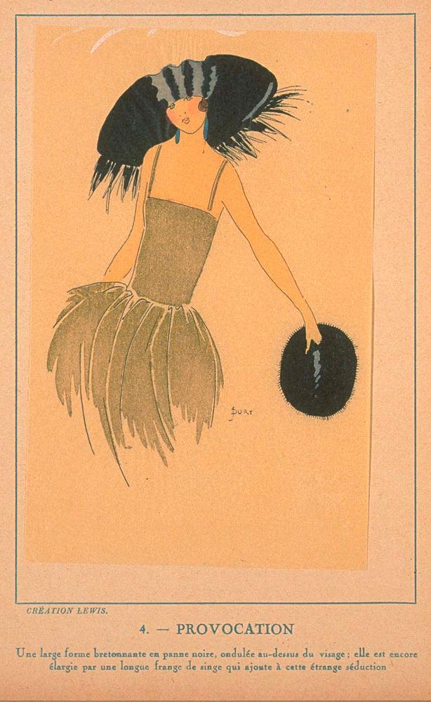 Ах, какие шляпки! Шляпная мода 1922 года по версии французского журнала «Les chapeaux du Tres parisien». Часть 2, фото № 25