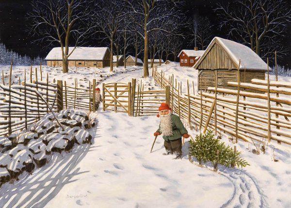 рождественский календарь, норвежская выпечка