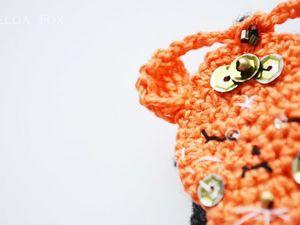 Новый брошко-монстрик G A B Y: скоро в Atelier Crochet Fox. Ярмарка Мастеров - ручная работа, handmade.