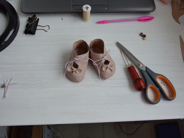 Выкройки туфельки для куклы фото 894