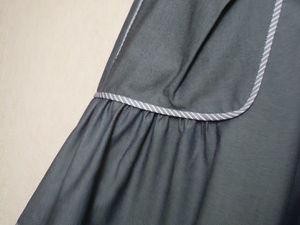 20% скидка на юбку из джинсовой ткани с карманами. Ярмарка Мастеров - ручная работа, handmade.