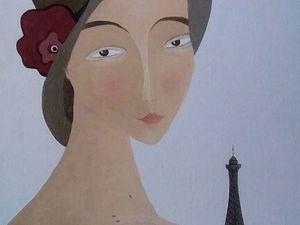 """""""Из Парижа — с любовью"""" на Главной! Томочка, спасибо!. Ярмарка Мастеров - ручная работа, handmade."""