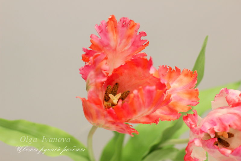 лепка цветов, цветы, колокольчик