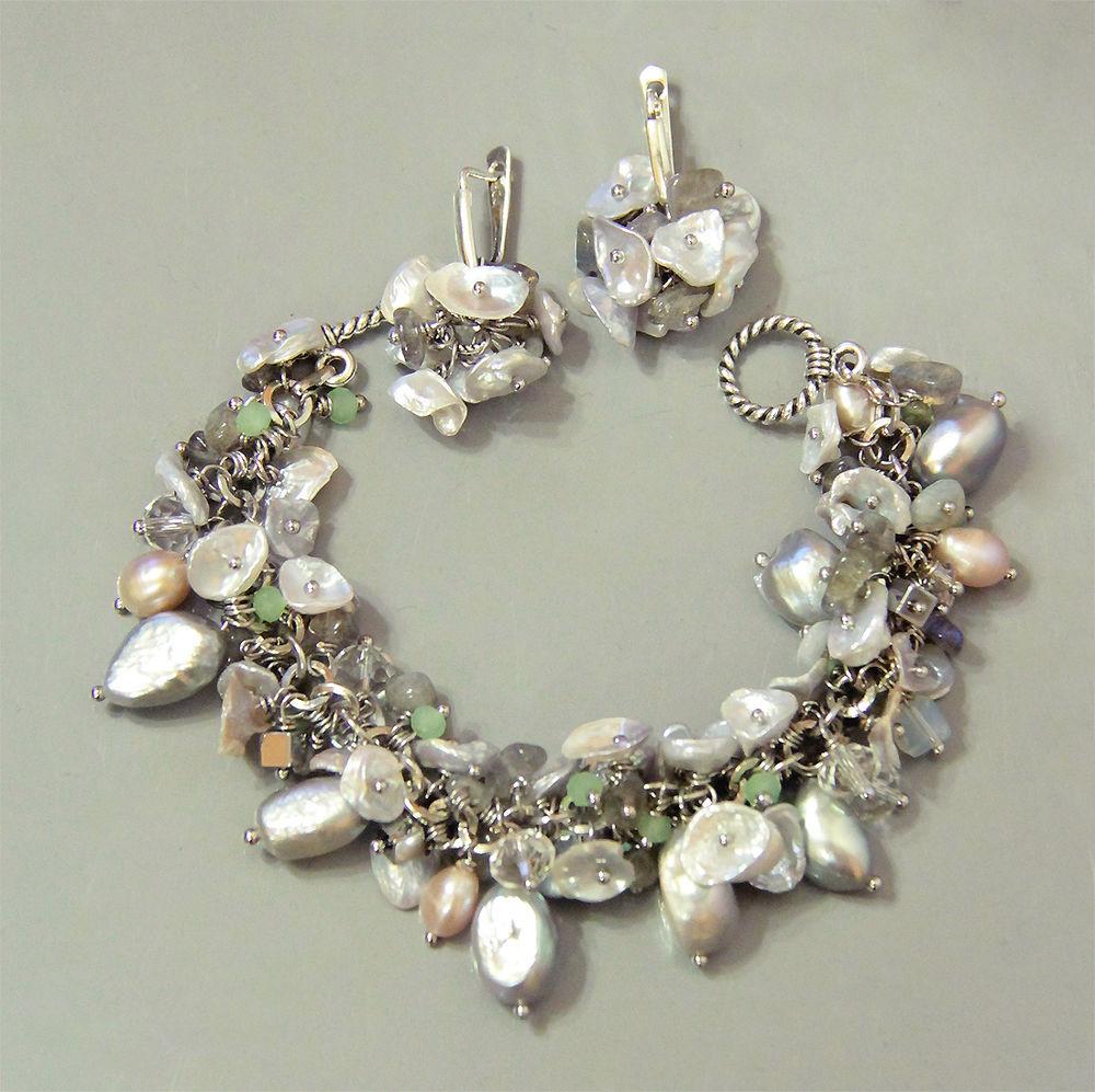 Авторские украшения из жемчуга и натуральных камней своими руками, фото № 33