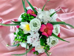 Анонс Выхода Мастер-класса по Изготовлению Цветов, для Свадебного Букета Невесты из Фоамирана. Ярмарка Мастеров - ручная работа, handmade.