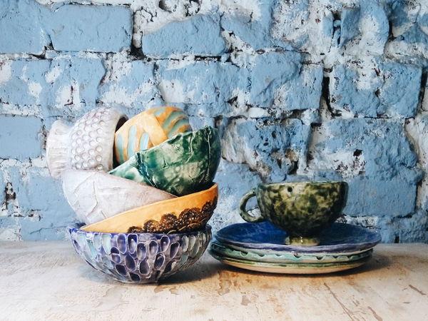 быстрый мастер-класс по керамике | Ярмарка Мастеров - ручная работа, handmade
