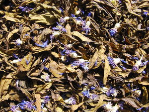 Новинка! Иван-чай с васильком (Кипрей, капорский чай с цветочками). Ярмарка Мастеров - ручная работа, handmade.