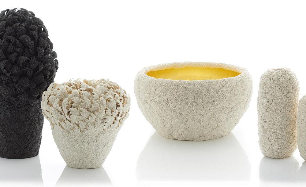 Потрясающие работы Hitomi Hosono: растения, застывшие в фарфоре, фото № 11