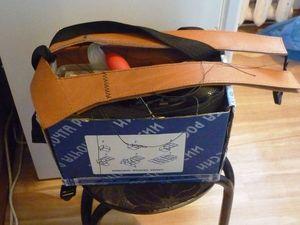 Кожаный рюкзак. Часть 3. Ярмарка Мастеров - ручная работа, handmade.