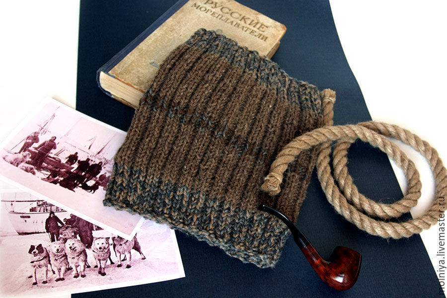 зимний теплый шарф