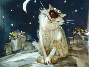 А вы знакомы с котами Анатолия Ярышкина?. Ярмарка Мастеров - ручная работа, handmade.