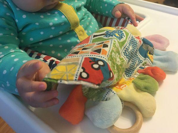 Шьем игрушку-погремушку для самых маленьких   Ярмарка Мастеров - ручная работа, handmade