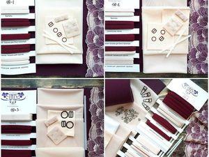 Содержание наборов для шитья бельевых комплектов. Ярмарка Мастеров - ручная работа, handmade.