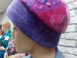 Весенние скидки на валяные шапочки!. Ярмарка Мастеров - ручная работа, handmade.
