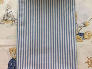 Распродажа бязи Синяя полоска до 18.08.18. Ярмарка Мастеров - ручная работа, handmade.
