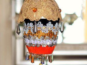 Мастер-класс: ёлочная игрушка «Бурлеск». Ярмарка Мастеров - ручная работа, handmade.