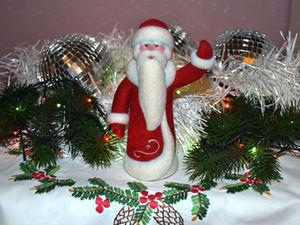 Валяем Дедушку Мороза!!! Двухдневный МК (11 и 17 декабря, два дня)   Ярмарка Мастеров - ручная работа, handmade