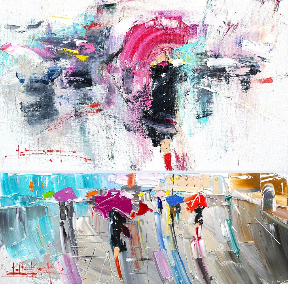Konstantin Sukhopluev: Artist Painting Rain, фото № 9