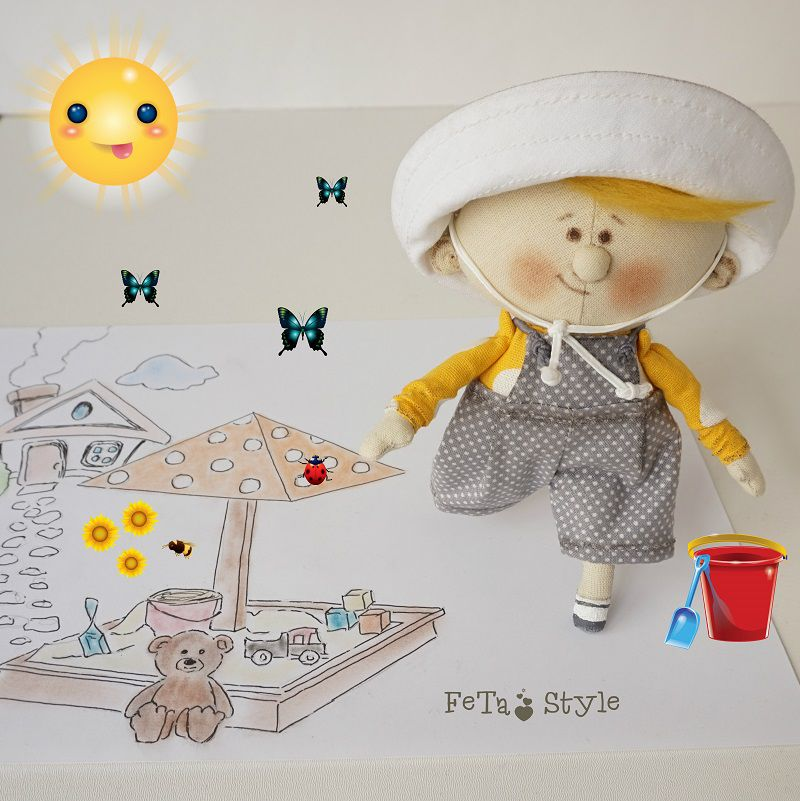 Солнышко в панамке или Детский сад на даче, фото № 13