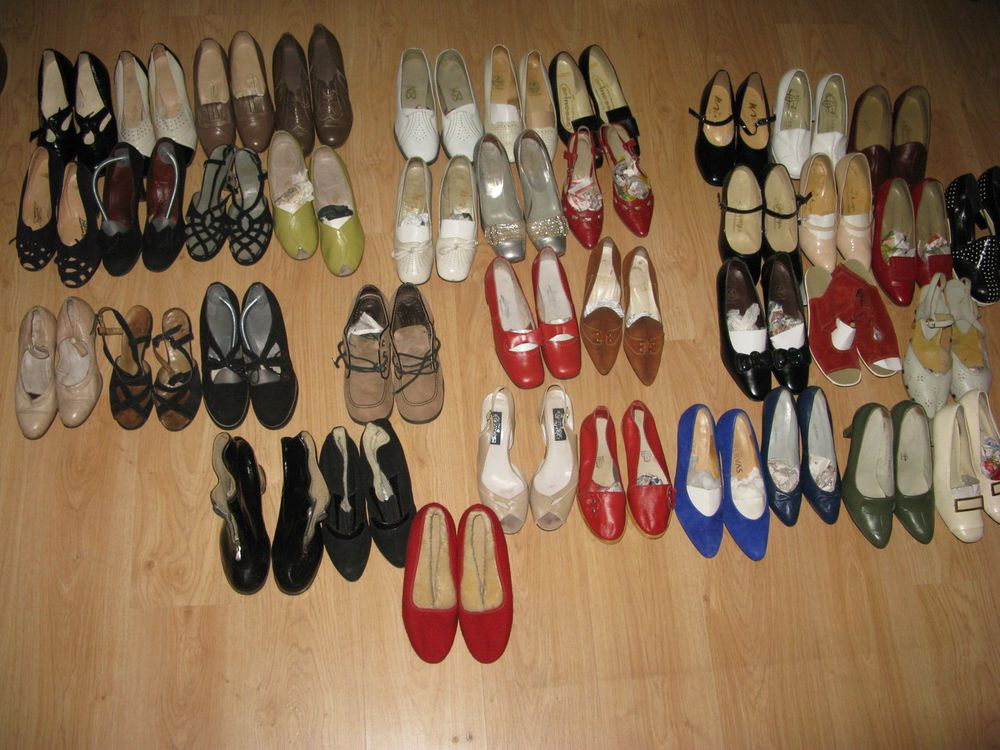 коллекция, история костюма, винтаж, коллекция обуви