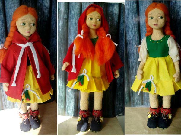 Войлочные куклы | Ярмарка Мастеров - ручная работа, handmade