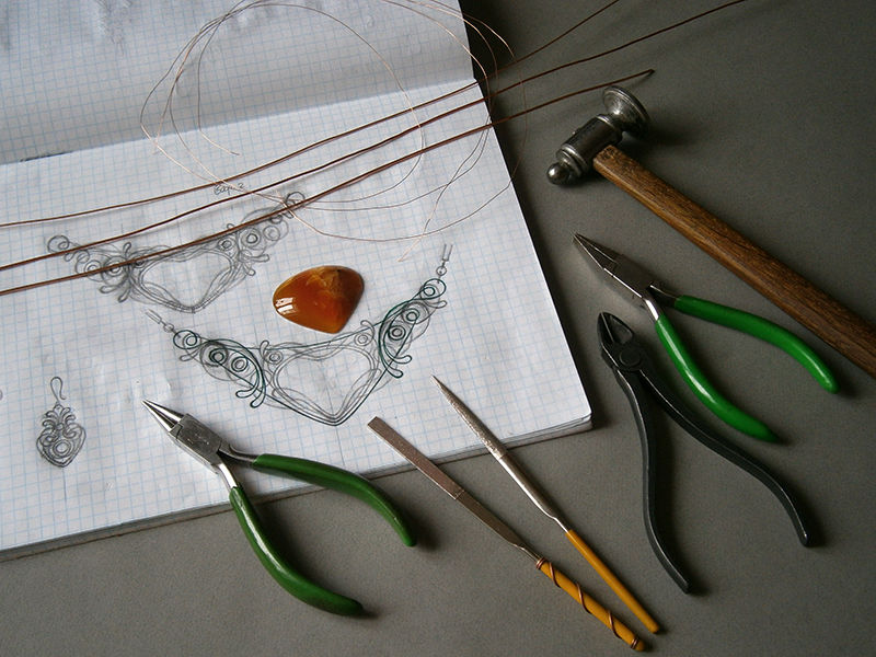 wire wrap, мастер-класс