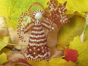 Осенний Ангел. Новый сувенир в магазине.. Ярмарка Мастеров - ручная работа, handmade.